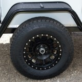 Pro Comp Rockwell 17x8.5 wheels with 265/70R17 Toyo Open Country ATII off road tire