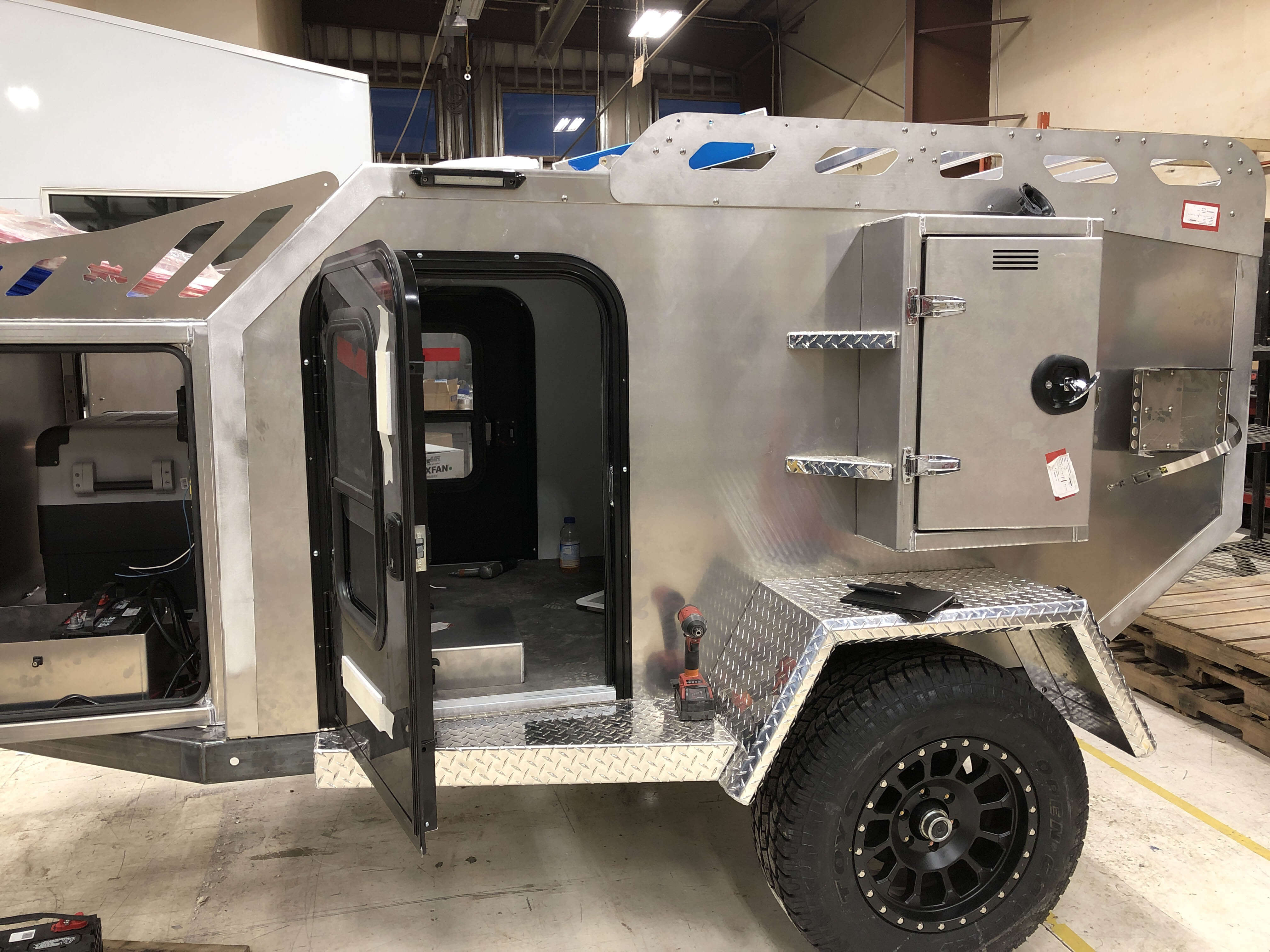 Innovative Off Road Camper Trailers - Off Grid Trailers