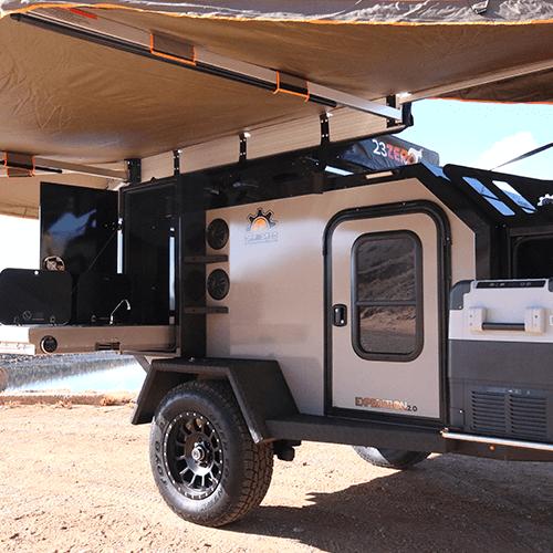 off grid trailer camper
