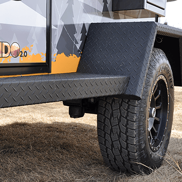 pando teardrop trailer tires