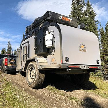off road teardrop trailer
