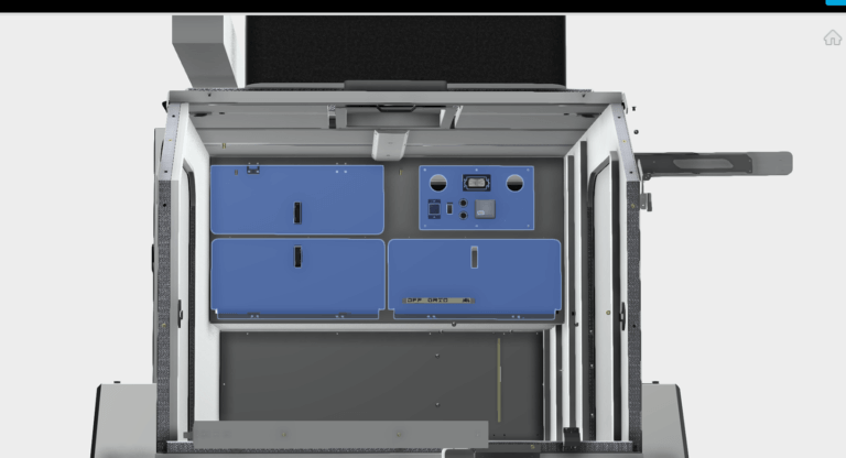 Additional interior compartment doors