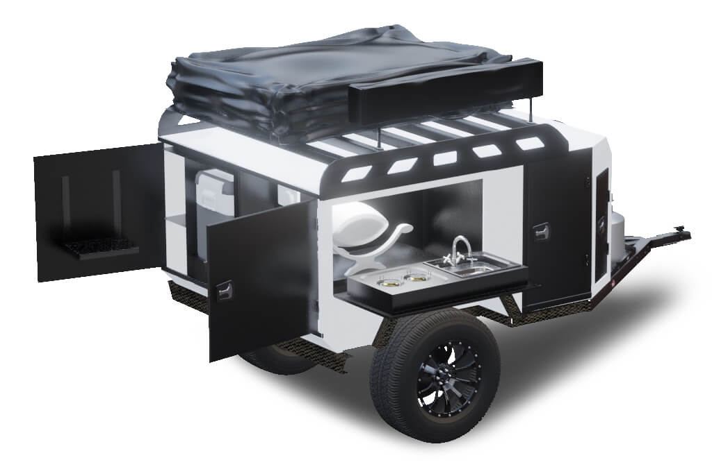 Durable Off Road Camper Trailers Off Grid Trailers