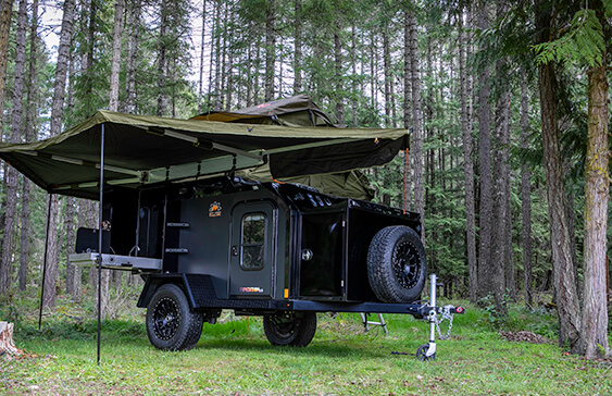 Expedition 2 0 All Metal Off Road Trailer Off Grid Trailers