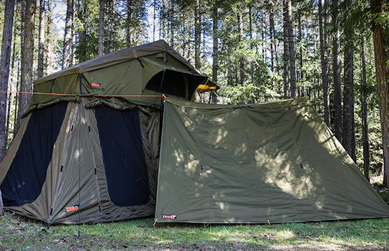 expedition trailer with awning