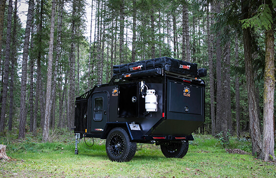 expedition off road camper trailer