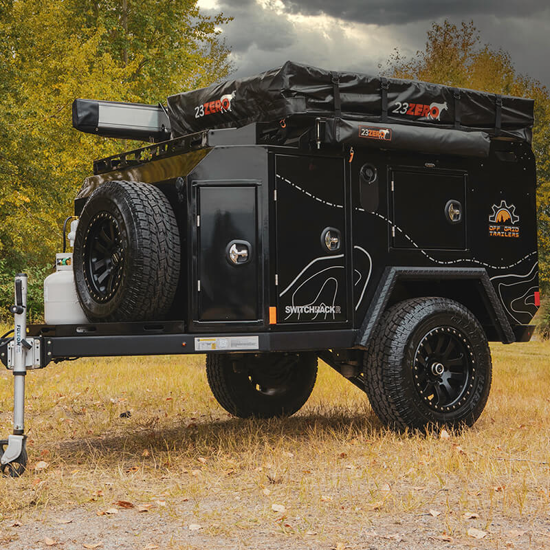 switchback overlanding utility trailer