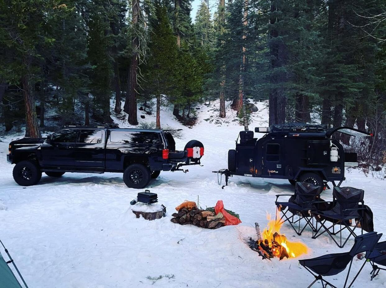 Extra Precautions For A Winter Overlanding Adventure Off Grid Trailers