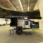 off road trailer with 270 awning