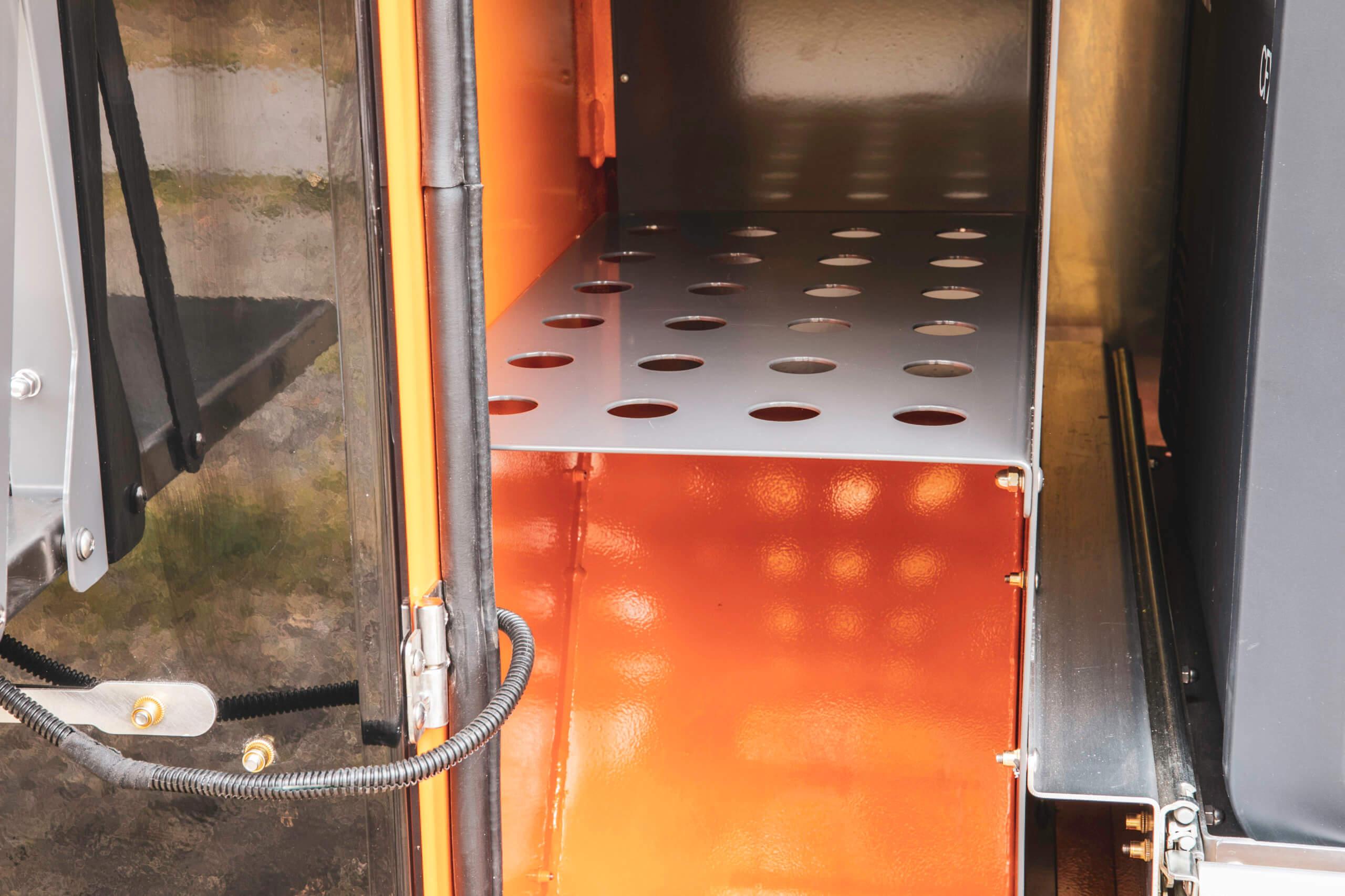storage in off road camper trailer