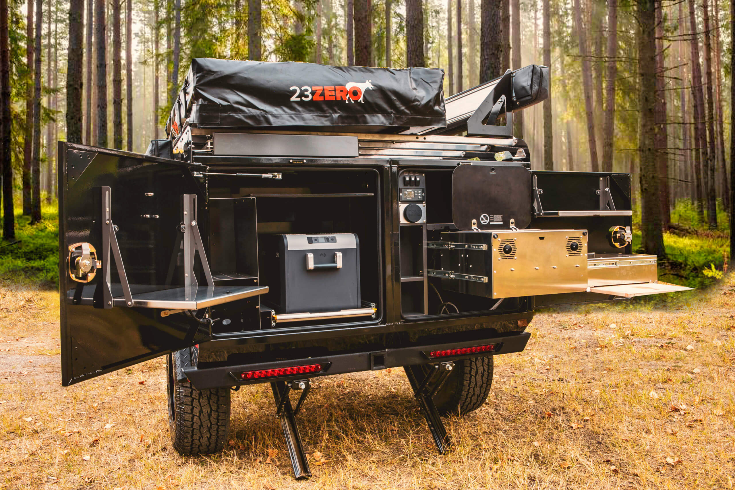 back galley off road camper