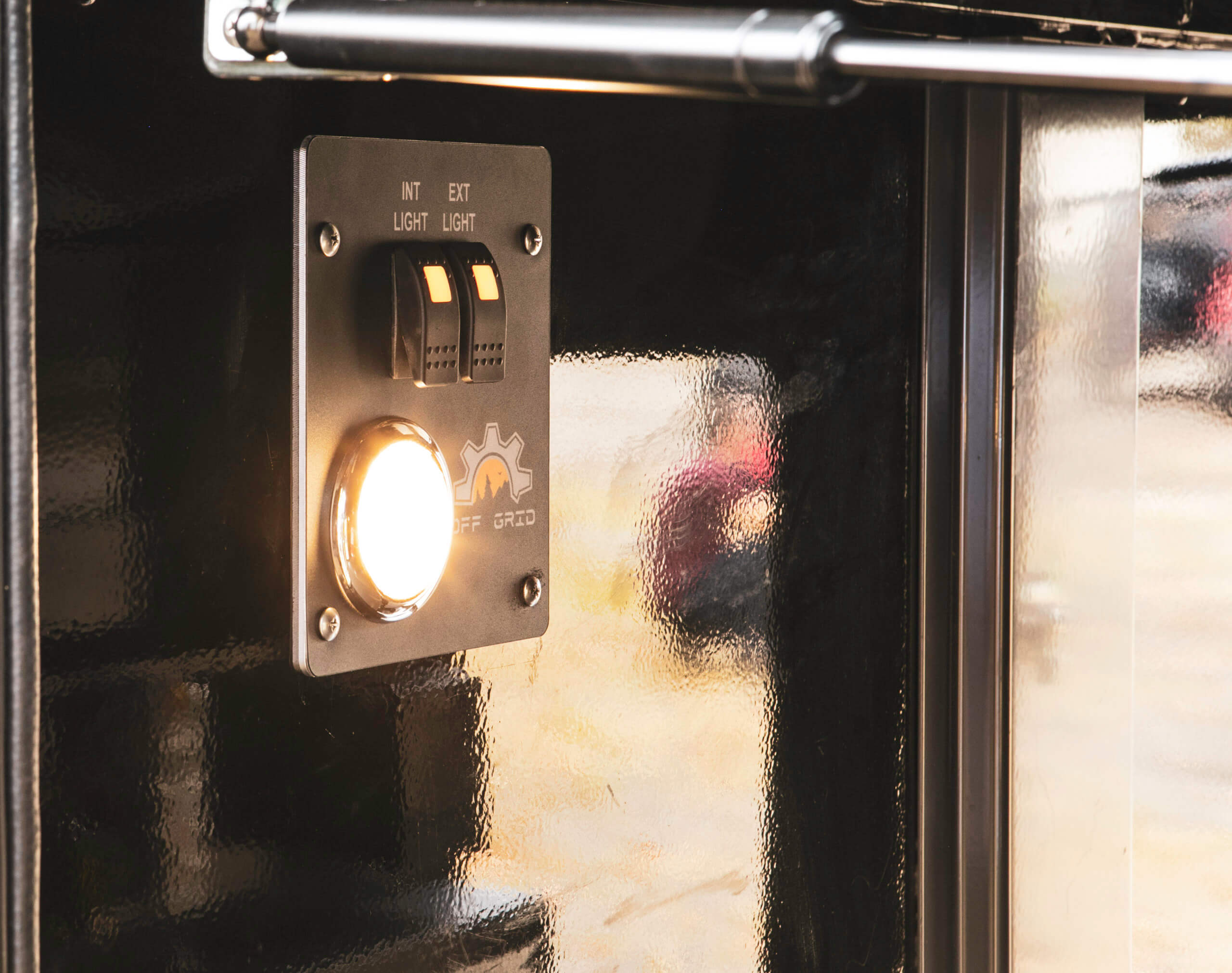 light switch in off road trailer
