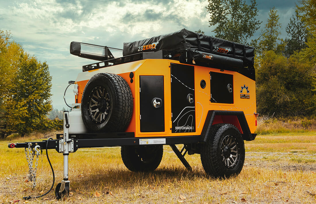 switchback off road utility trailer