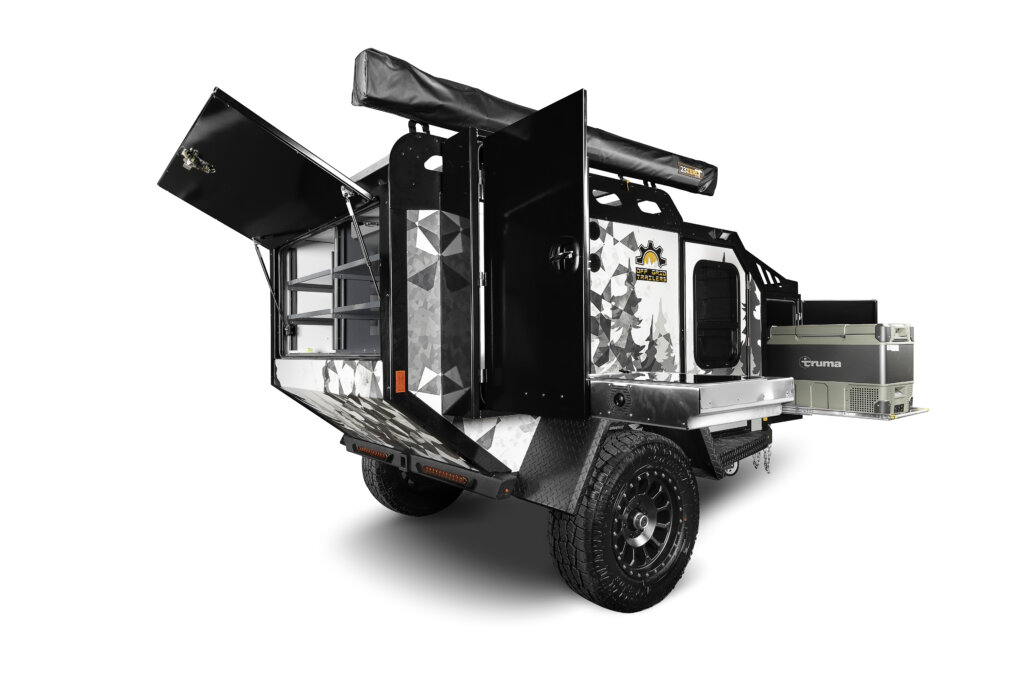 expedition off road camper open
