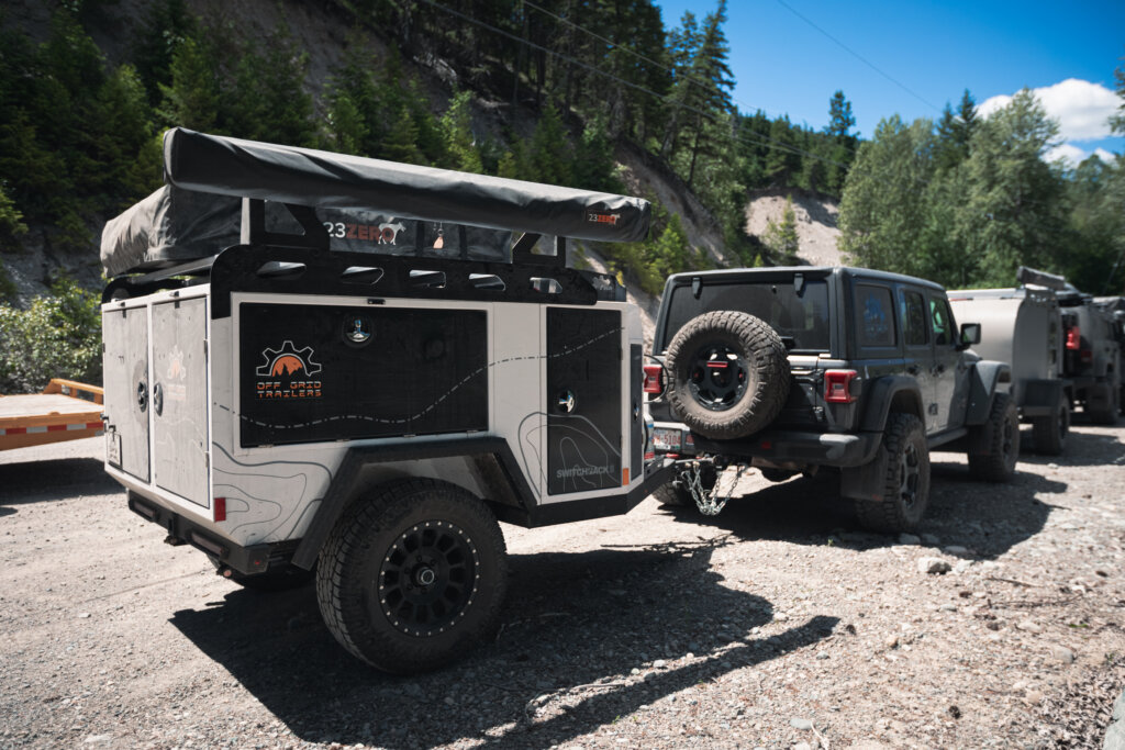Off Grid Trailers - KVR (Kettle Valley Railway) British Columbia, Canada - Switchback and Jeep