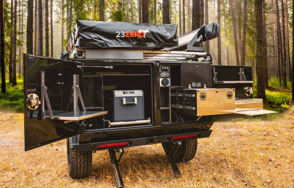 back galley off road utility trailer